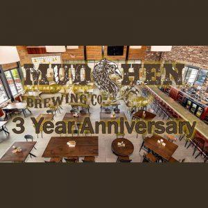 MudHen 3rd Anniversary party
