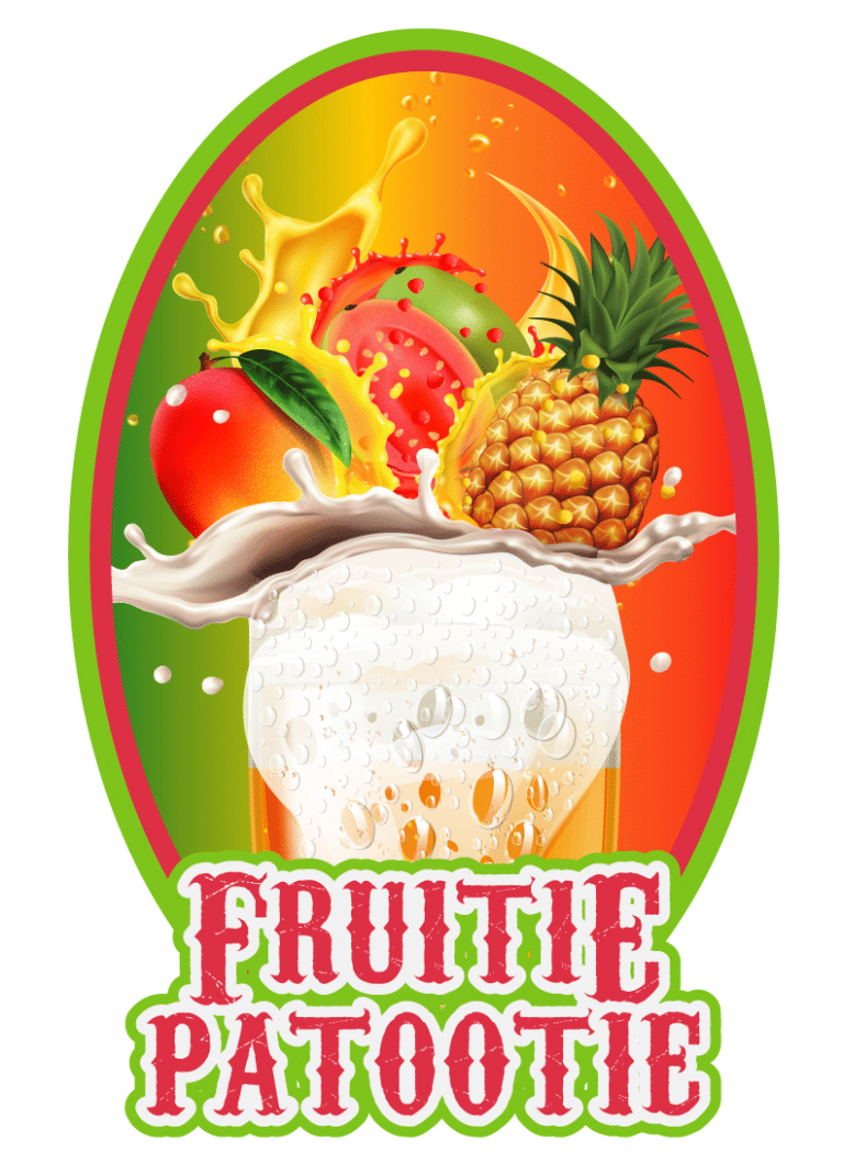 Fruitie Patootie Mango Guava Pineapple