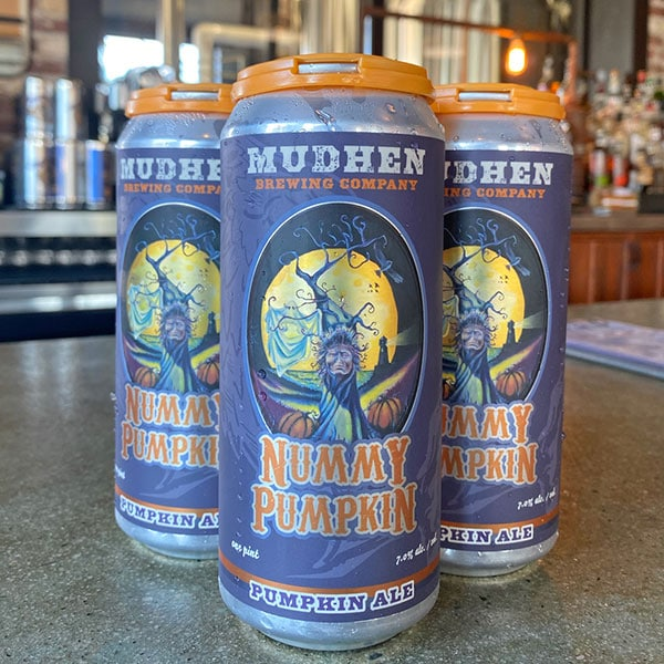 MudHen Brewing Company Nummy Pumpkin Cans
